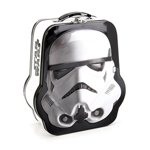 Star Wars Shaped Stormtrooper Tin Tote