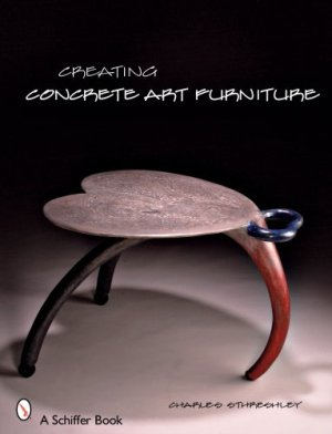 creating concrete art forniture ed schiffer