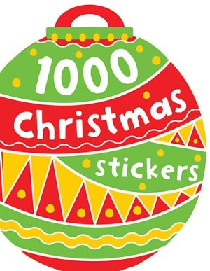1000 Stickers: Christmas
