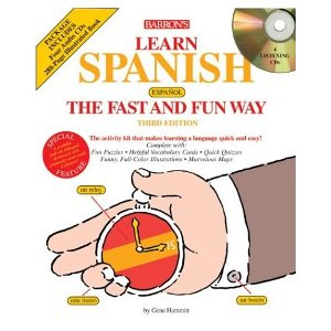 Learn spanish the fast and fun way with Audio CDs