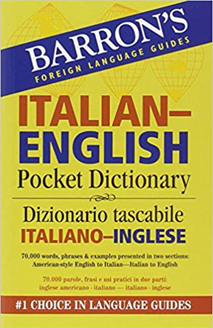 Italian english pocket bilingual dictionary