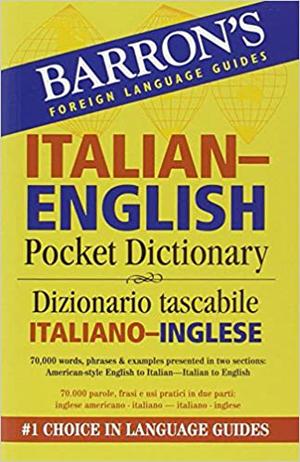Italian english pocket bilingual dictionary
