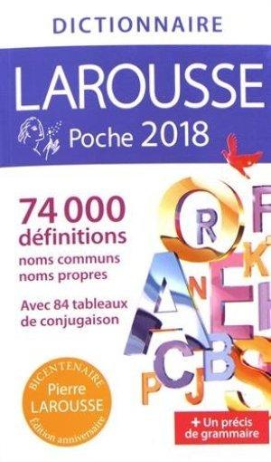 Dictionnaire Larousse poche 2018 (Rendere Entro Novembre 18)
