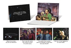 Star Trek Pop-Up Notecards