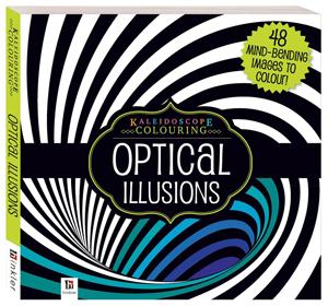Kaleidoscope Colouring Books Optical Illusion Yello