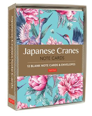 Japanese Cranes Note Cards