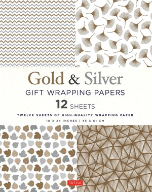Silver & Gold Gift Wrapping Papers