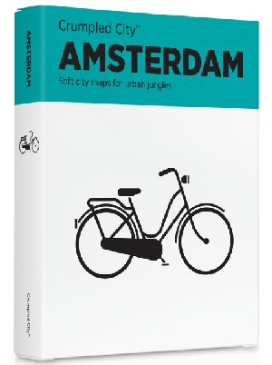 Crumpled City Map-Amsterdam