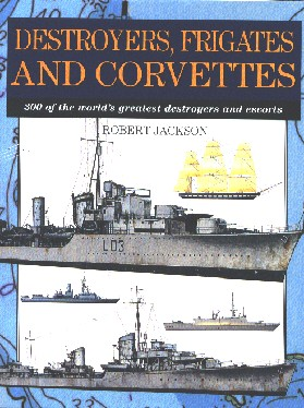 Destroyers, frigates and corvettes