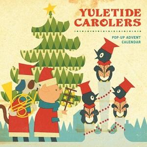 Yuletide Carolers Pop Up Advent Calendar