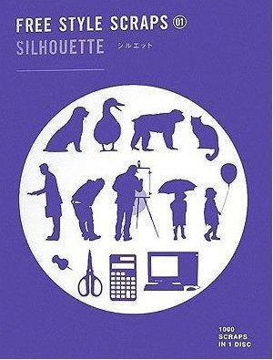 Free Style Scraps - Silhouette + CD