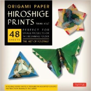 Origami Paper Hiroshige Prints Small 6 3/4