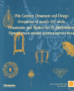 19th Century Ornament and Design (con Cd)