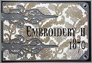 Embroidery II 1870 (Con CD)