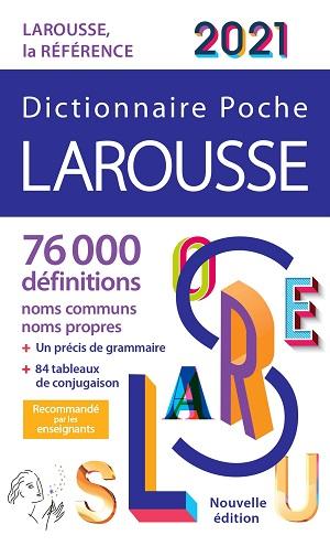 Dictionnaire Poche Larousse 2021