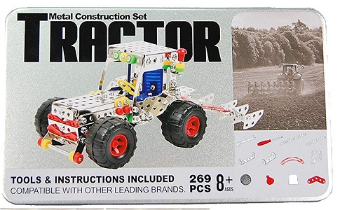269 Piece Tractor Metal Construction