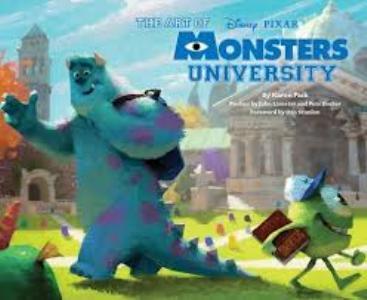 Art of Monsters University hc
