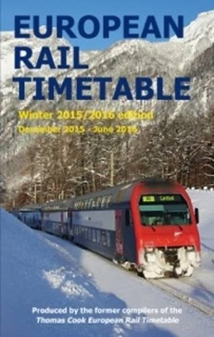European Rail Timetable Winter 2015-2016