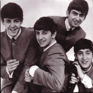Beatles - Square Notecards